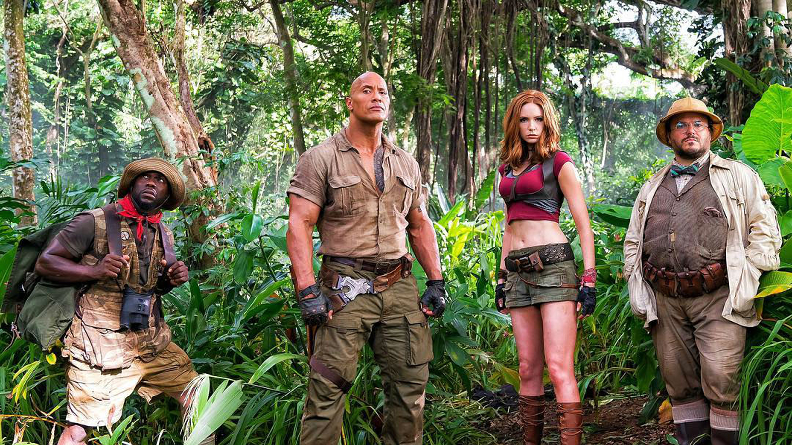 Review Jumanji: Welcome to the Jungle