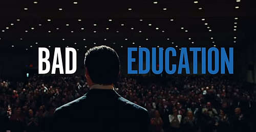 Review Bad Education